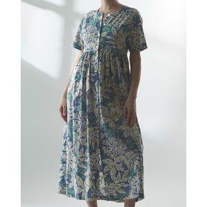 Vintage Hilo Hattie Hawaiian Floral Dress